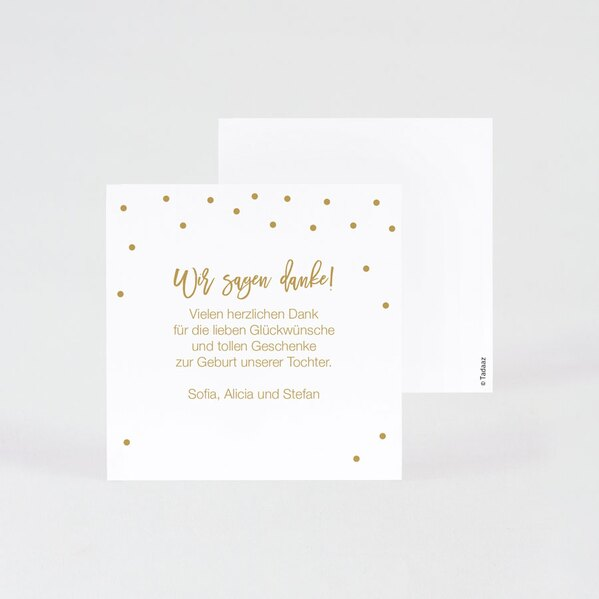 weisse-danksagung-geburt-mit-goldbeigem-konfetti-10x10cm-TA0557-1700005-07-1