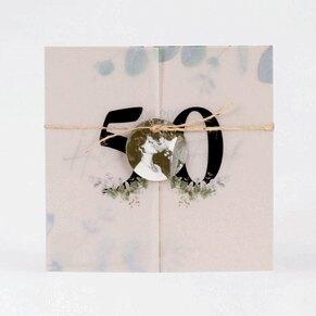 transparente-einladungskarte-zur-goldhochzeit-mit-altarfalz-eukalyptus-und-foto-TA1327-2000022-07-1