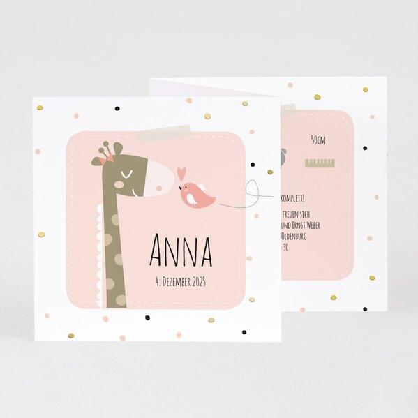 rosa-geburtskarte-giraffe-mit-goldfolie-TA507-044-07-1