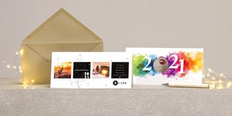Geschäftliche Weihnachtskarten (B2B)