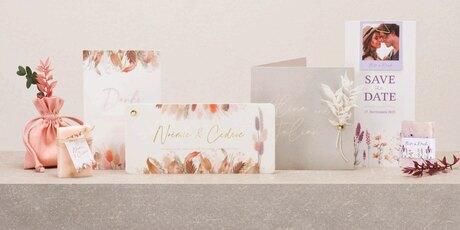 Neu: Papeterie mit Trockenblumen